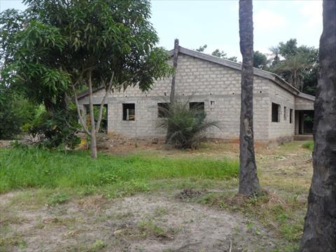 Plot with Unfinished Bungalow Gunjur for sale in Gambia