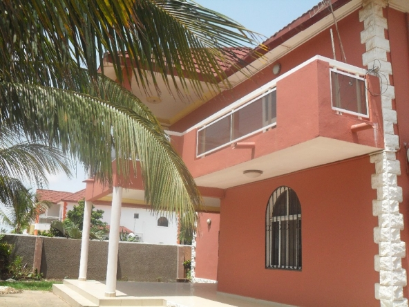 2 storey house in brufut gardens gambia