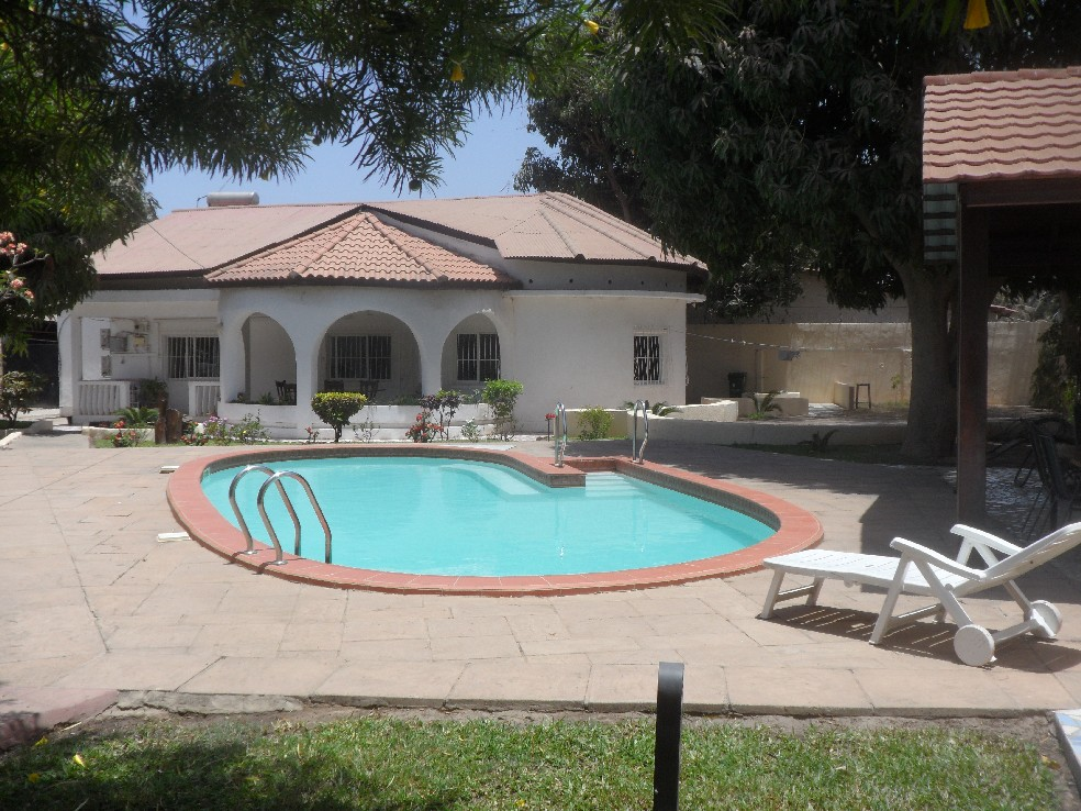 Villa with private pool for holiday let Gambia