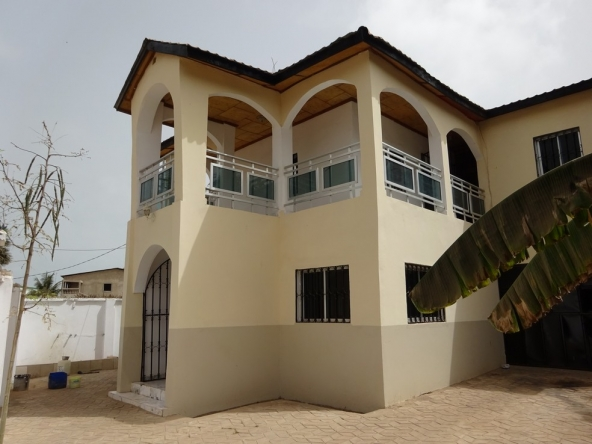 Unfurnished Storey House Kerr Serign Gambia for sale