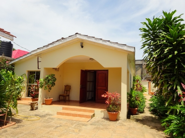 2 bed part furnished villa